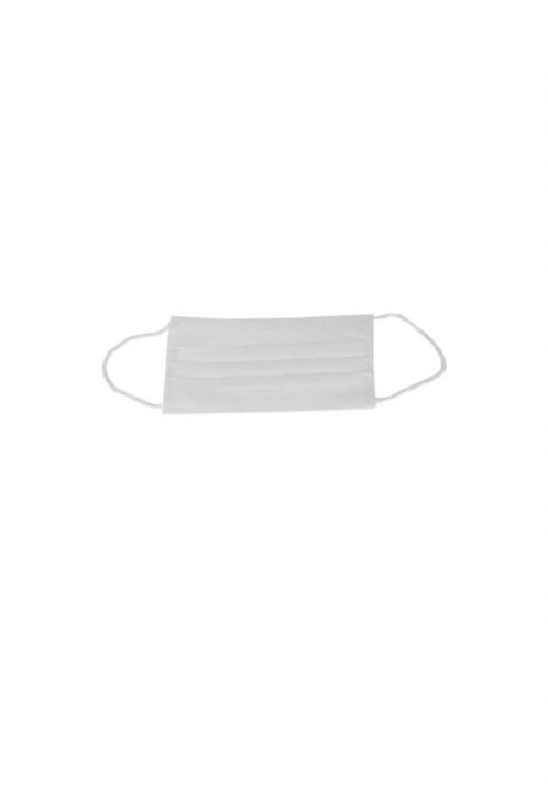 3 LAYER SURGICAL FACE PROTECTIVE MASK WHITE 100 PCS