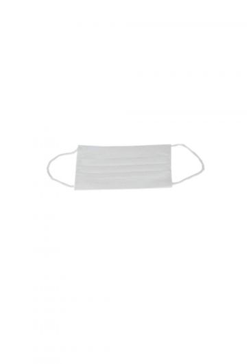 3 Layer Surgical Face Mask White 50 Pieces - Thumbnail