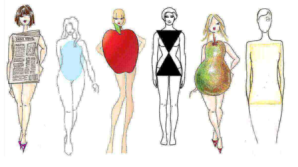Dikdörtgen Vücut Tipi Çamaşır Seçimi