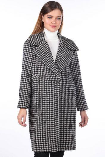 Пальто с рисунком