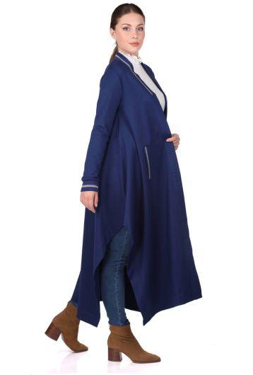 MARKAPIA WOMAN - كارديجان طويل الأكمام بشق غير متماثل (1)
