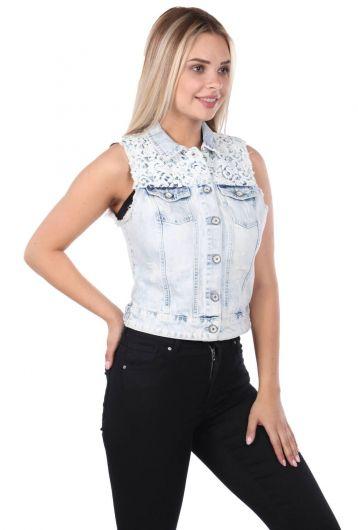 Banny Jeans - Banny Jeans Kadın Yelek (1)
