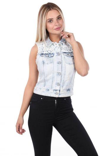 Banny Jeans Woman Vest - Thumbnail