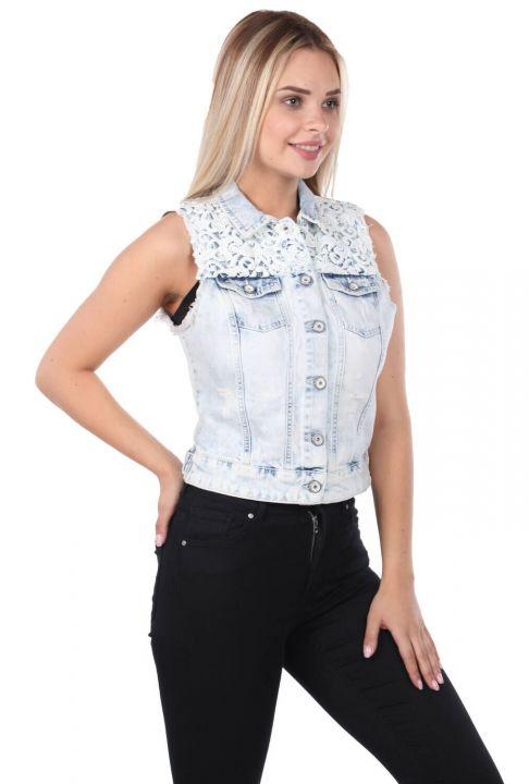 Banny Jeans Woman Vest