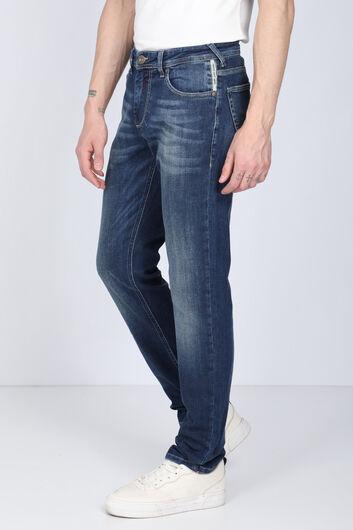 Banny Jeans - Мужские синие джинсовые брюки Banny (1)