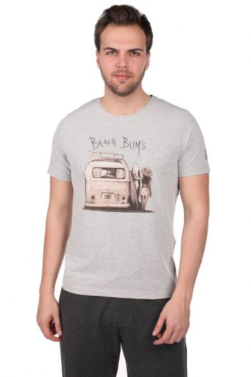 MARKAPIA MAN - BEACH BUYS BASKILI ERKEK T-SHIRT