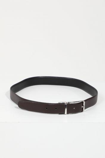 حزام بني مرير صلب نسائي - Thumbnail