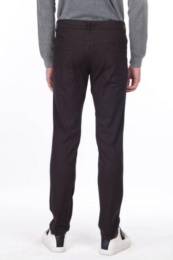 Black Men's Chino Pants - Thumbnail