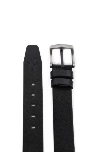MARKAPIA MAN - Black Men's Genuine Leather Belt (1)