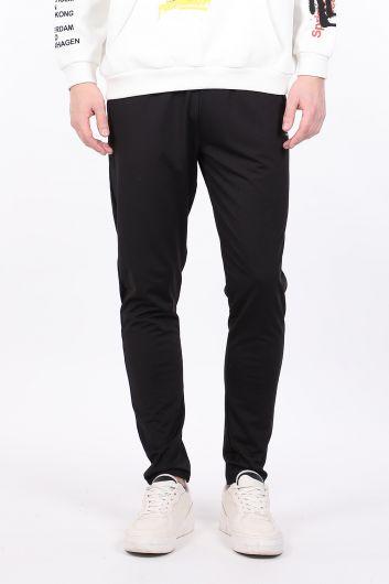 Черные мужские спортивные брюки - Thumbnail