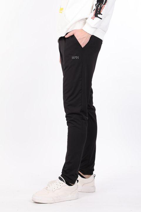 Черные мужские спортивные брюки