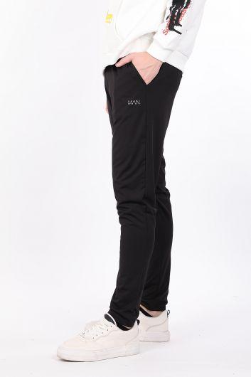 MARKAPIA - Black Men's Sports Trousers (1)