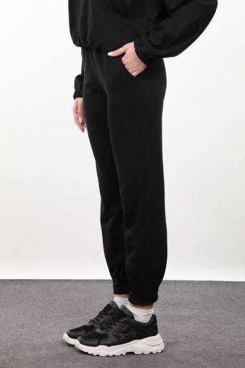 MARKAPIA WOMAN - Женские черные брюки (1)
