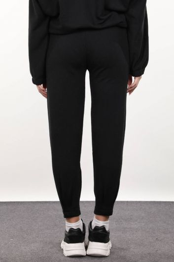 Женские черные брюки - Thumbnail