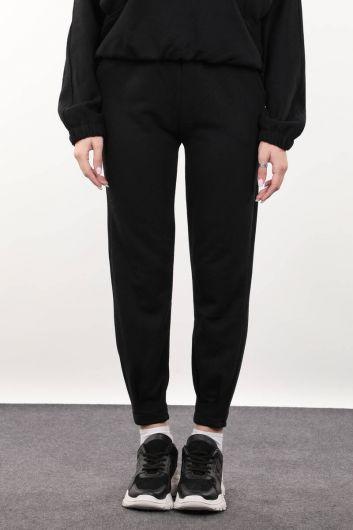 Women's Black Trousers - Thumbnail