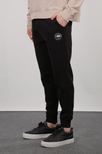 MARKAPIA MAN - Black Sweatpants Men's Jogger Tracksuit (1)