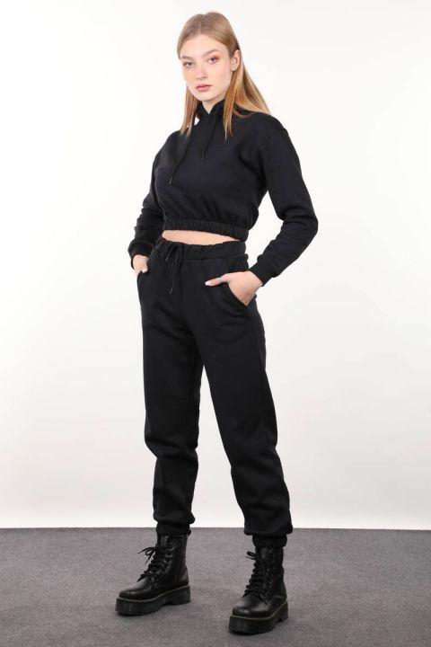 Black Women's Jogger Trousers