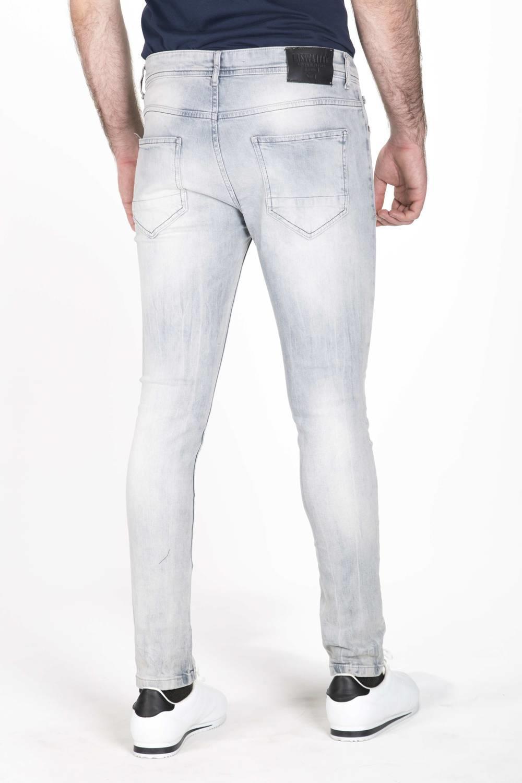 Blue White Erkek Kot Pantolon
