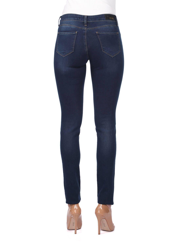 Kadın Koyu Regular Fit Jean Pantolon