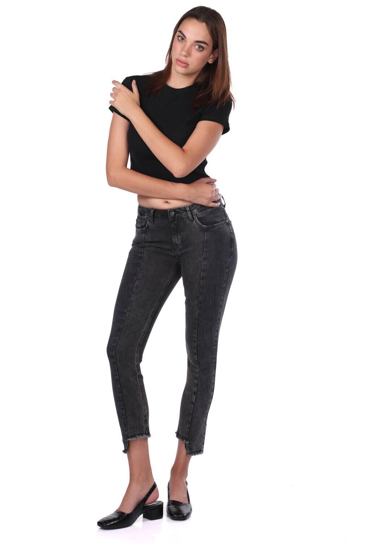 Blue White Kadın Siyah Pantolon