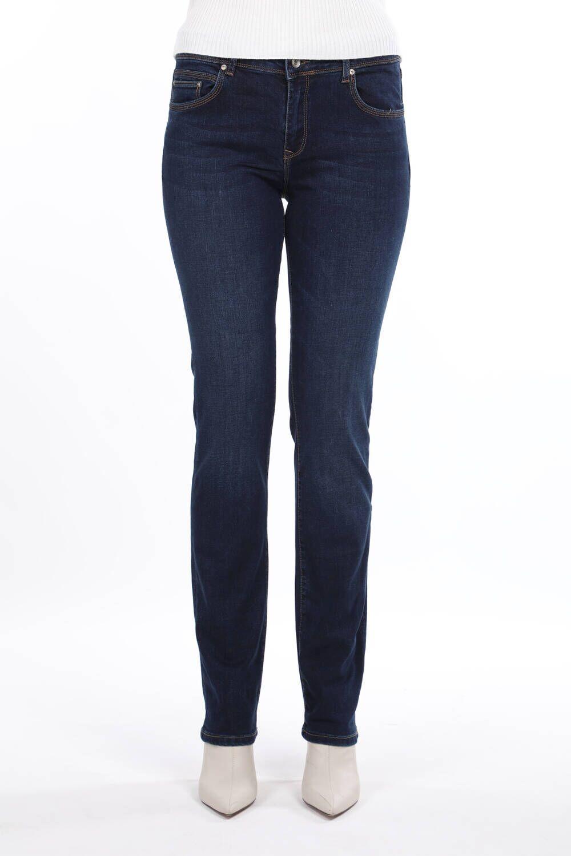 Blue White Kadın Regular Fit Jean Pantolon