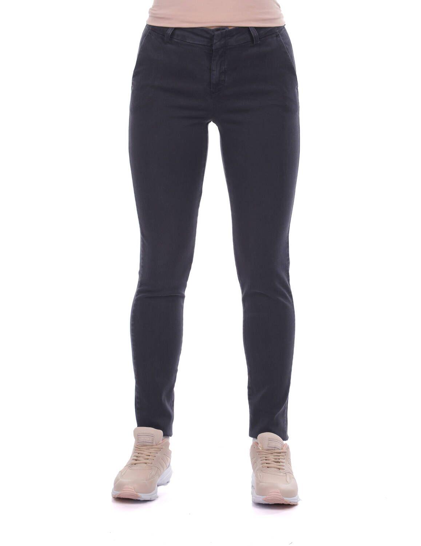 Blue White Kadın Yüksek Bel Kot Pantolon