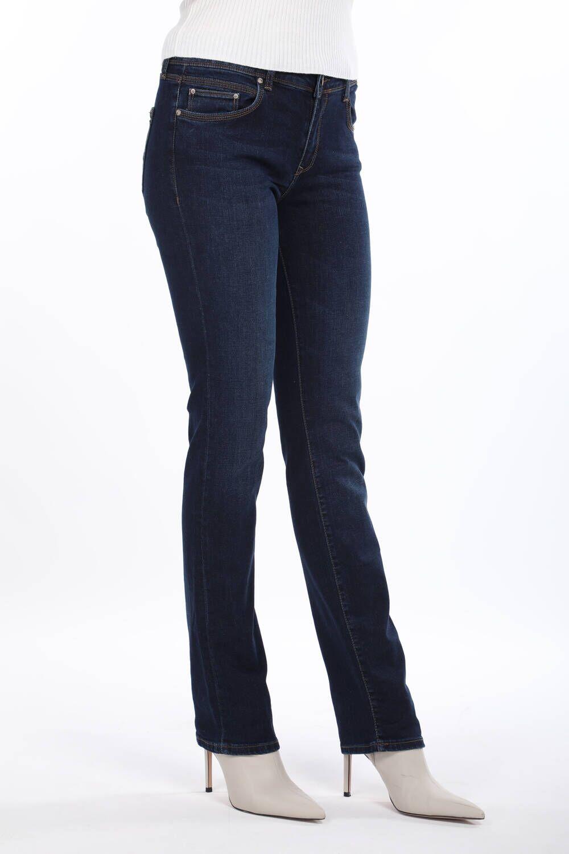 Blue White Kadın Regular Fit Lacivert Jean Pantolon