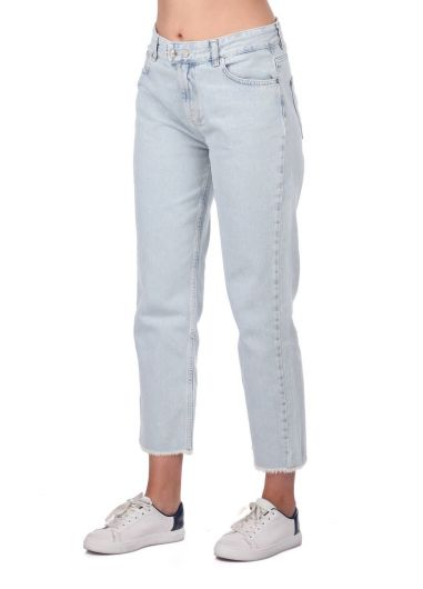 BLUE WHITE - Blue White Jean Trousers (1)
