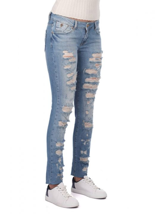 Bny Jeans Kadın Jean Pantolon