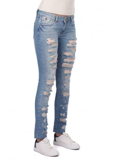 بنطلون جينز نسائي من Bny Jeans - Thumbnail