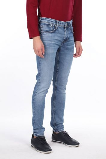 MARKAPIA MAN - Прямые мужские джинсовые брюки (1)