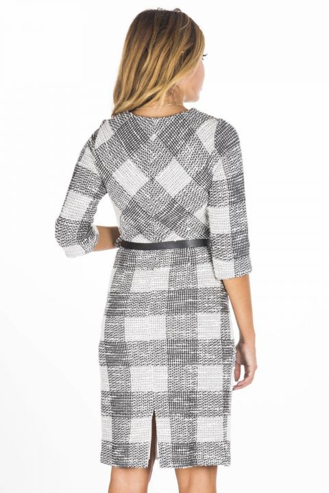 Boutique Uncle Plaid Dress