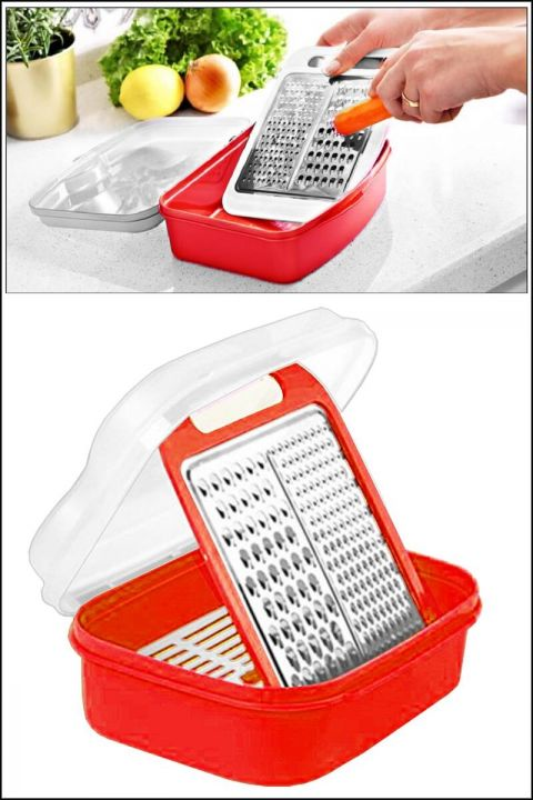 Bowl Grater With Cover