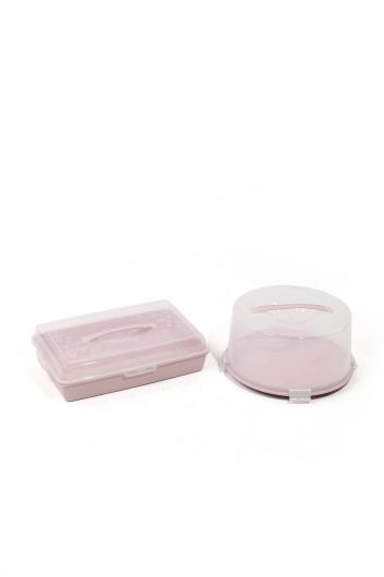 Cake / Pastry Storage and Transport Container Set of 2 - Thumbnail