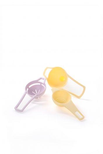 MARKAPIA HOME - Ситечко для чая, воронка и сепаратор яиц (1)