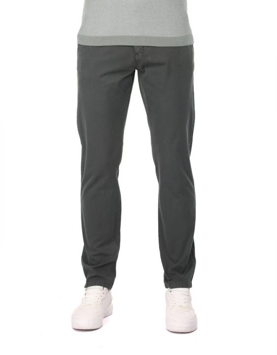 Dark Green Men's Chino Pants