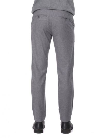 Gray Men's Chino Pants - Thumbnail