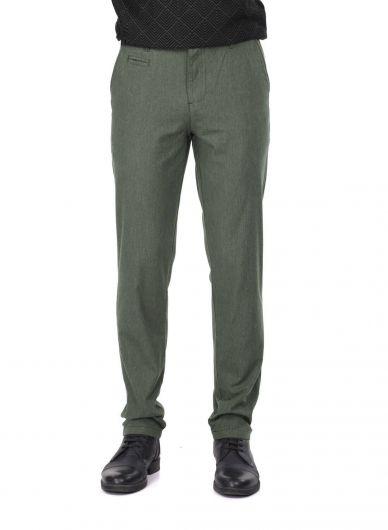 Khaki Men's Chino Pants - Thumbnail
