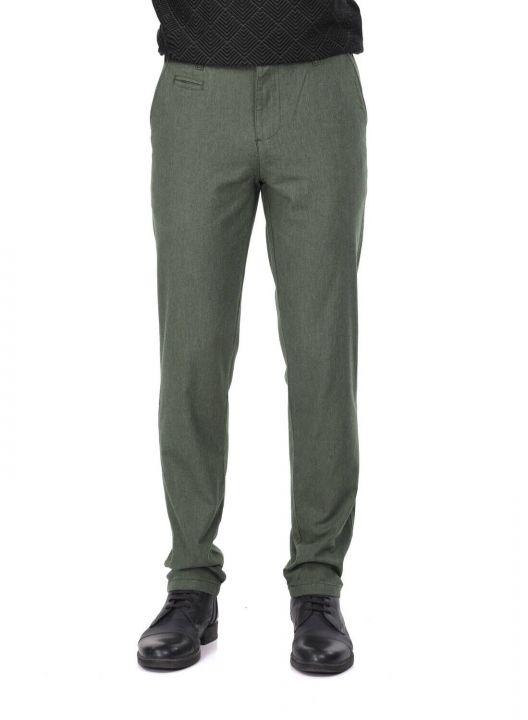 Khaki Men's Chino Pants