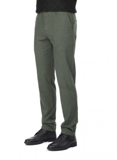 MARKAPIA MAN - Khaki Men's Chino Pants (1)