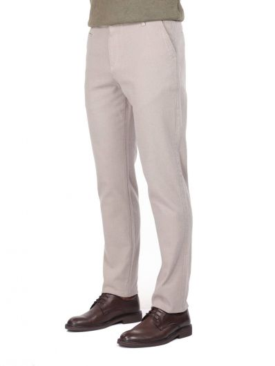 MARKAPIA MAN - Bej Erkek Chino Pantolon (1)