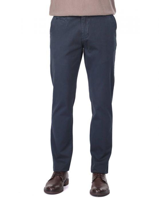 Navy Blue Men's Chino Pants