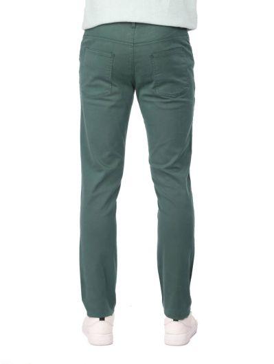 Yeşil Erkek Chino Pantolon - Thumbnail