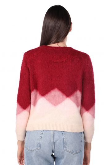 Color Transition Yumos Women's Sweater - Thumbnail