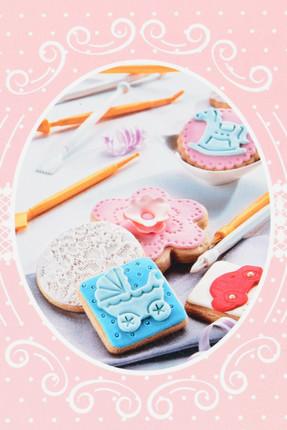 Красочный набор пера для украшения торта