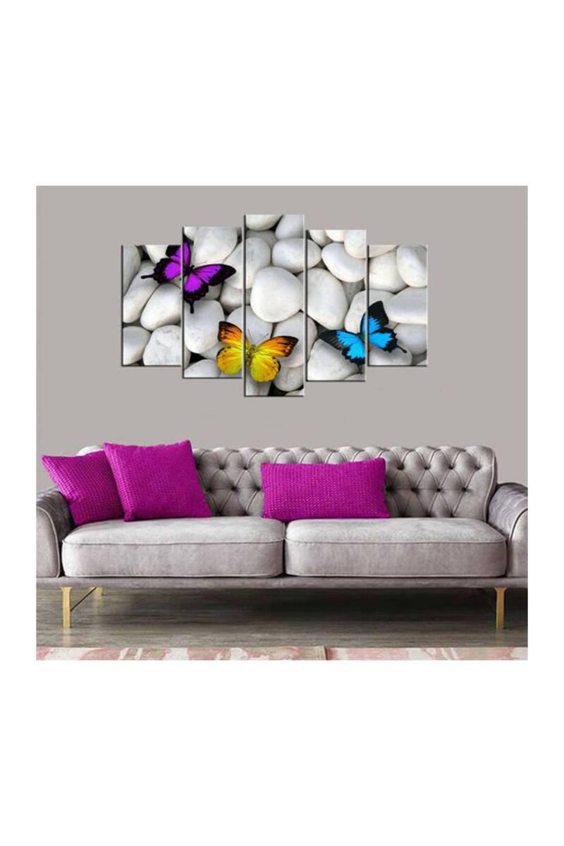 Красочная бабочка 5 шт МДФ стол