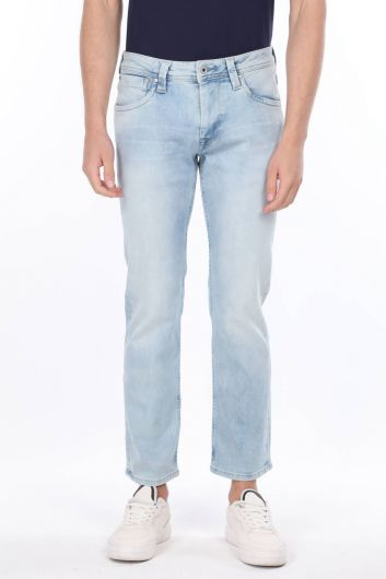 Comfort Mavi Jean Erkek Pantolon - Thumbnail