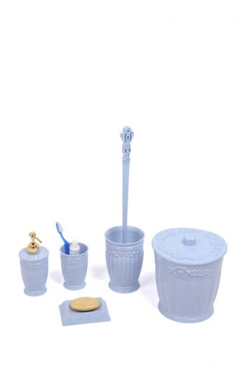 MARKAPIA HOME - Trash Bin Elite Toilet Set 5 Pieces (1)
