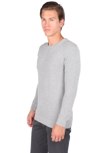 MARKAPIA MAN - Men's Crew Neck Sweater (1)