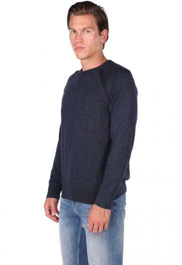 MARKAPIA MAN - Трикотажный мужской свитер с круглым вырезом (1)